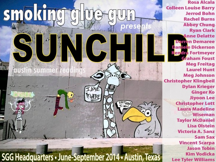sunchild reading flyer names