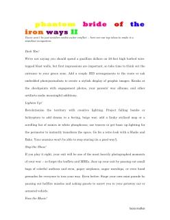 Phantom Bride of the Iron Ways II01