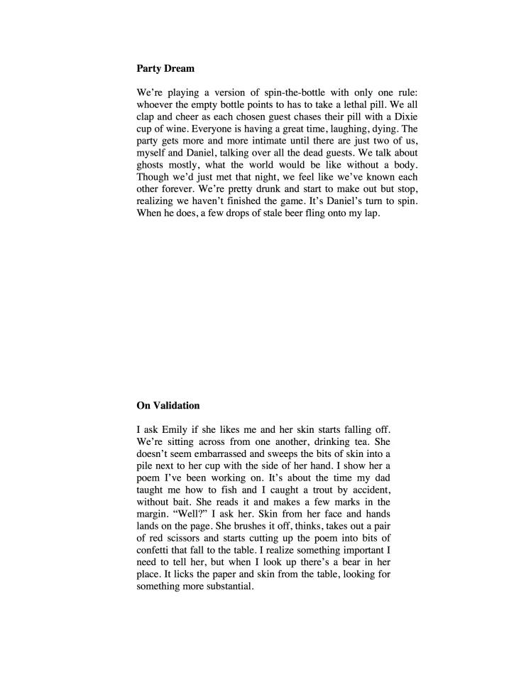 Patrick Dundon Poems for Smoking Glue Gun